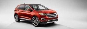 2016 Ford Edge - front