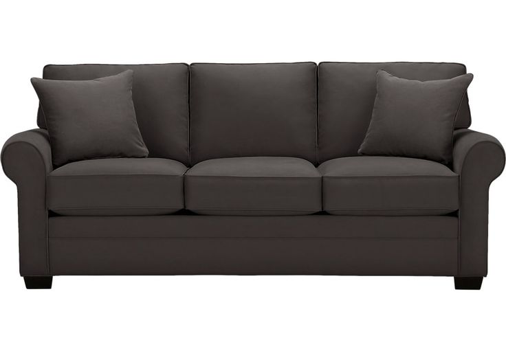 Cindy Crawford Home Bellingham Slate Sofa .599.99. 88W x 38D x 37H . Find affordable Sofas for your home that will complement the rest of your furniture.  #iSofa #roomstogo