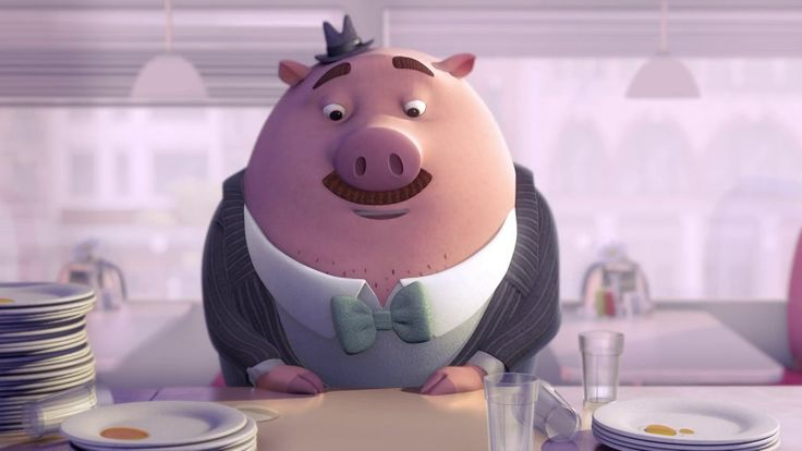"""""""Chicken or the Egg"""" is a student animated short film by Christine Kim and Elaine Wu from Ringling College of Art and Design. It's an offbeat romantic comedy about a pig who falls in love with a chicken and has to choose between love or his  EGGdiction to eating eggs."""
