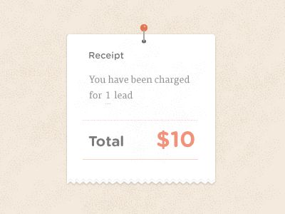 23 best UI Receipt images on Pinterest Ui ux, App design and - money receipt design
