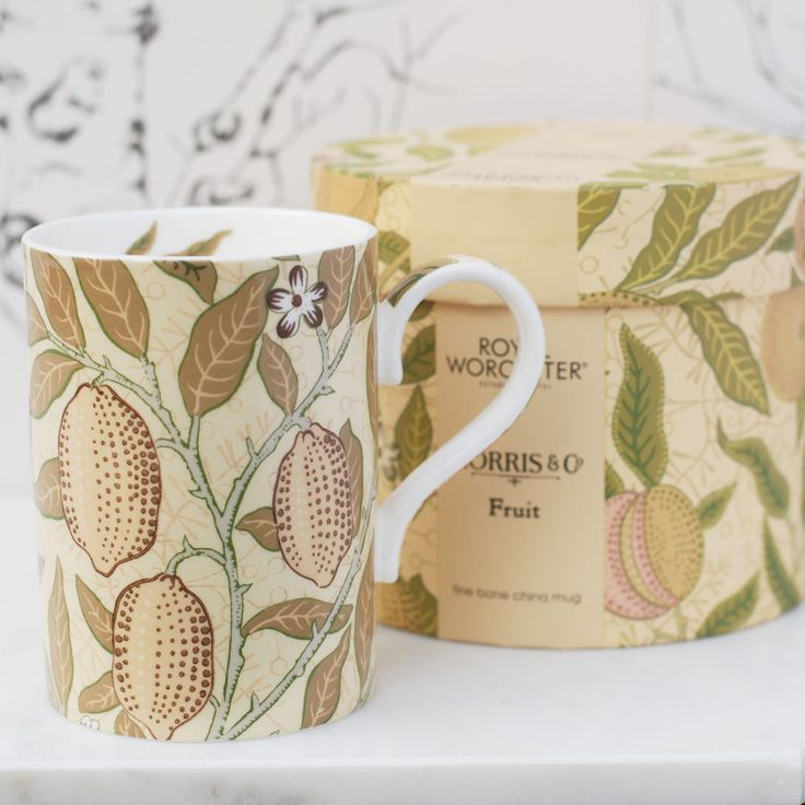 William Morris mugg Fruit från http://www.countrystyle.se
