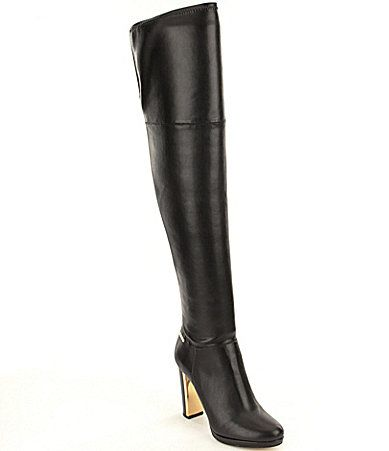 Calvin Klein Polomia Over The Knee Stretch Boots #Dillards