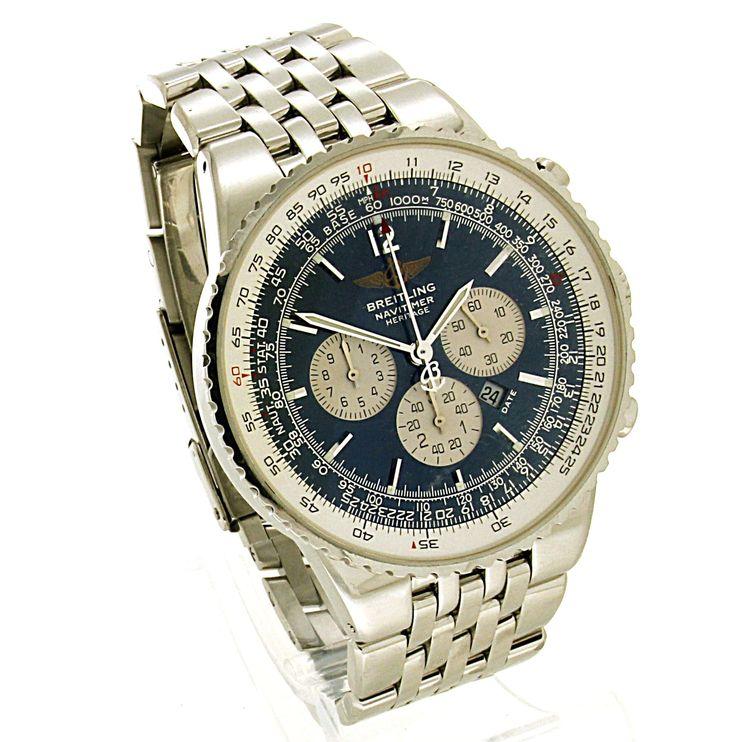 Breitling Navitimer Heritage. Refnr: BR5340 - article number: BR5960 #watch #breitling #breitlingwatches | breitling horloge | breitling watches mens | breitling watches for men | mens jewelry | vintage watches | vintage horloges | horloges heren | SpiegelgrachtJuweliers.com