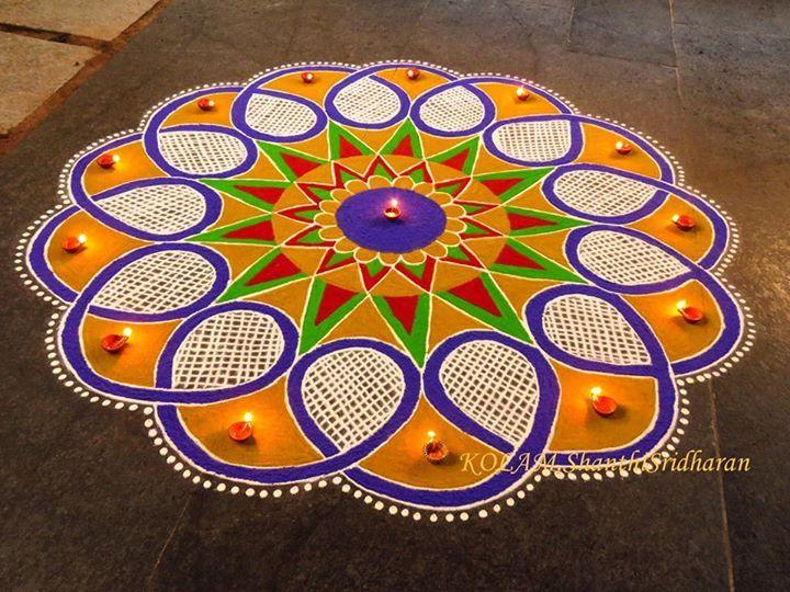 KOLAM.Shanthi Sridharan