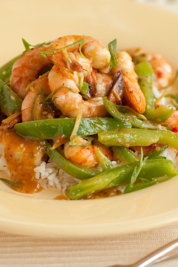 #Epicure Ginger Shrimp Stir-fry #portioncontrol