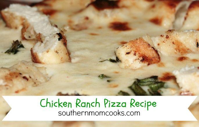 Chicken Ranch Pizza recipe