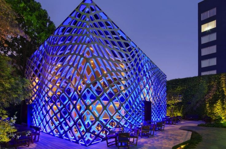 Building of the Year 2011, Hotel & Restaurants: Tori Tori Restaurant / Rojkind Arquitectos + ESRAWE Studio