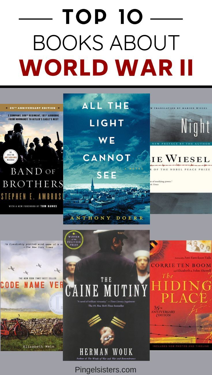 The Top 10 World War 2 Books Of All Time Book Club Books Book