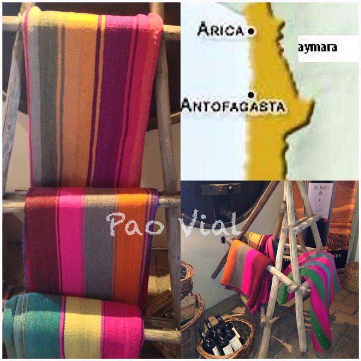 Mantas tejidas con lana de oveja y alpaca.  Cultura Indígena.  Excelente para decorar rincones de tu hogar