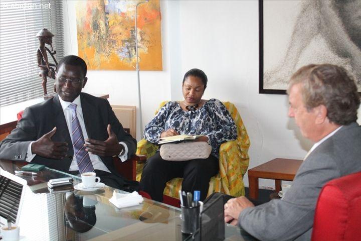 Dad comes out of retirement to run a project in #Africa: Retour de la BAD en Côte d'Ivoire : une délégation de la Banque  Africaine de Développement  à abidjan.net