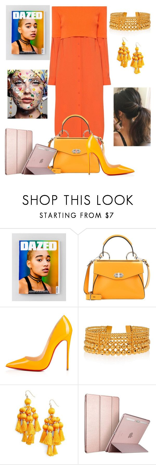"""Art Editor"" by jurneefade ❤ liked on Polyvore featuring DKNY, Proenza Schouler, Christian Louboutin, Paula Mendoza and Kate Spade"