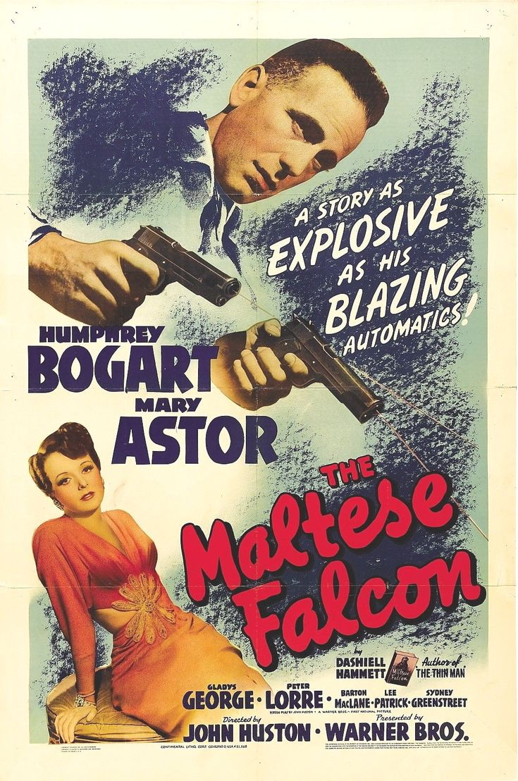 The Maltese Falcon Poster 24x36 Inches Humphrey Bogart Mary Astor Rare Oop Maltese Falcon Movie Classic Movie Posters Bogart Movies