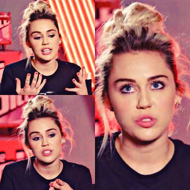 Miley Cyrus #TheVoice #TeamMiley #nbc #like4like