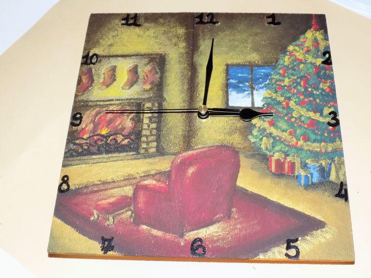 orologio a tema natalizio