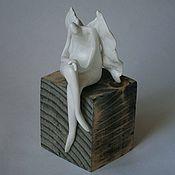 Для дома и интерьера ручной работы. Ярмарка Мастеров - ручная работа Ангел Задумчивый. Handmade.