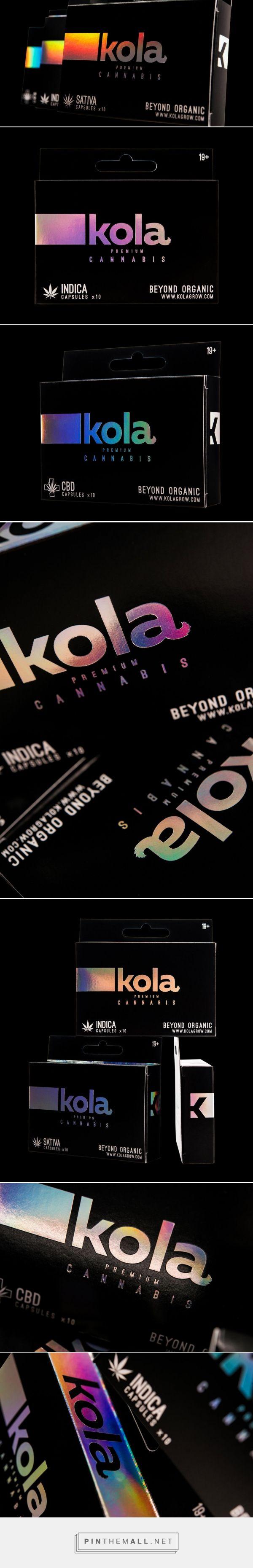 Kola Premium Cannabis Capsules — The Dieline - Branding & Packaging Design