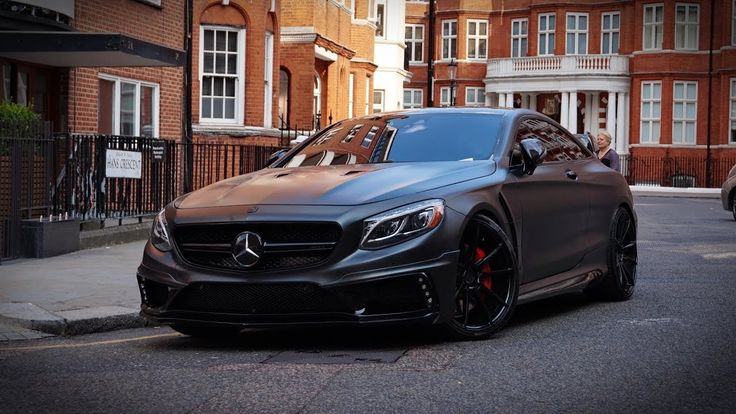 Mercedes Amg S63 Coupe C217 Black Bison By Wald International