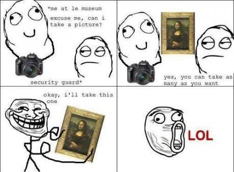 Can I take any pictures ?  #Funny, #Comic, #Troll, #Meme faces
