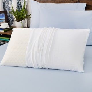 Shop for Authentic Talatech 230 Thread Count Latex Foam Soft Density Pillow. Free Shipping on orders over $45 at Overstock.com - Your Online Memory Foam Store! Get 5% in rewards with Club O! - 13318085