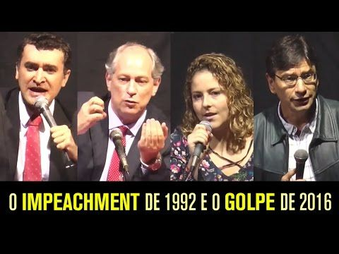 Debate: O GOLPE DE 2016   Ciro Gomes, Carina Vitral, Marcio Pochmann e Alysson Mascaro - YouTube