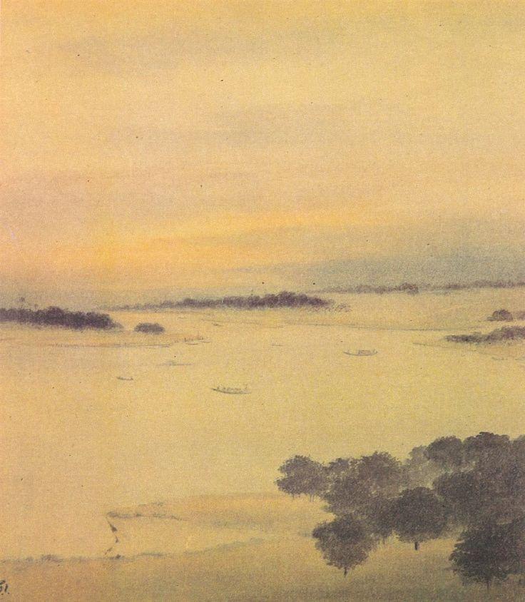 Gaganendranath Tagore (1867-1938) - Bengal Landscape