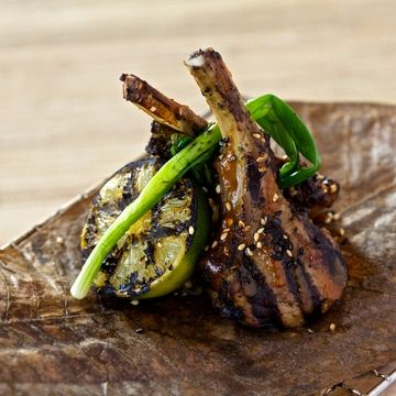 Scott Hallsworth'sTea Smoked Lamb with Spicy Korean Miso | FOUR Magazine