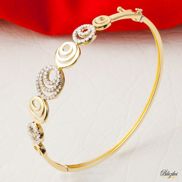 classics gold pdp products bangles with women bracelet bracelets cable main