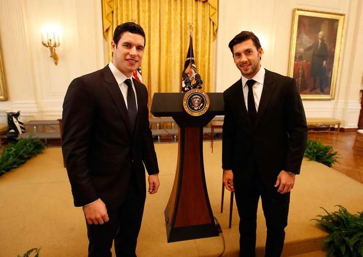 Penguins visit to the White house - 10/06/2016 - Pittsburgh Penguins - Photos