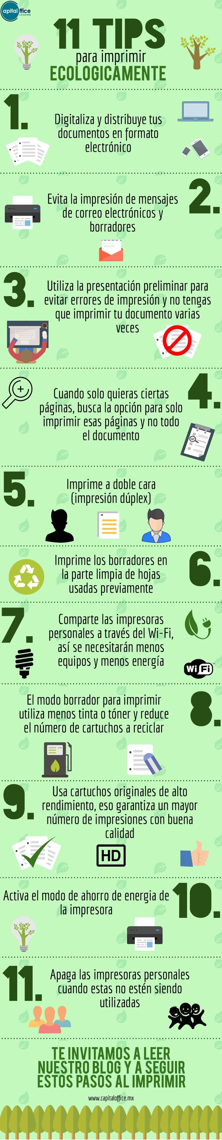 Tips para imprimir de manera m s ecologica medioambiente for Oficina de medio ambiente
