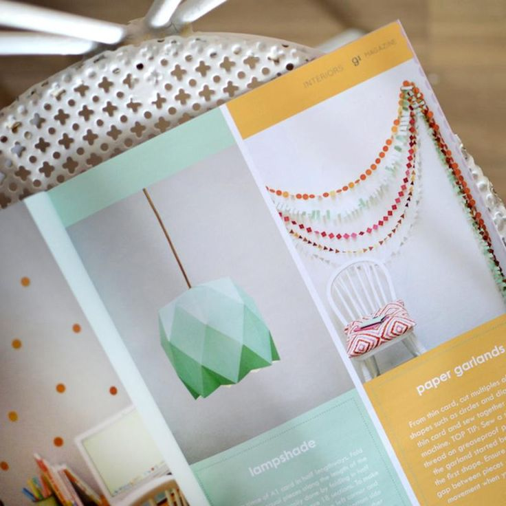 Make a gorgeous paper lampshade with the tutorial in our print issue! Get your copy here: http://www.91magazine.co.uk/shop