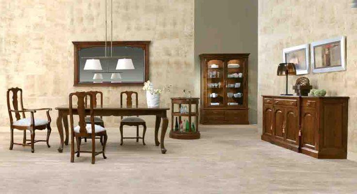 Articulo sobre la decoraci n de comedores o salones le - Muebles de salon clasicos ...