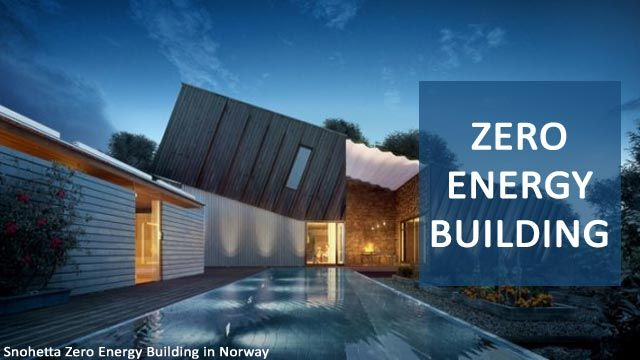 Zero Energy Building: Concept and Features