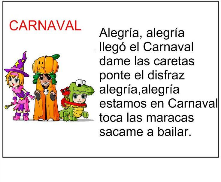vocabulario de carnaval en español - Buscar con Google