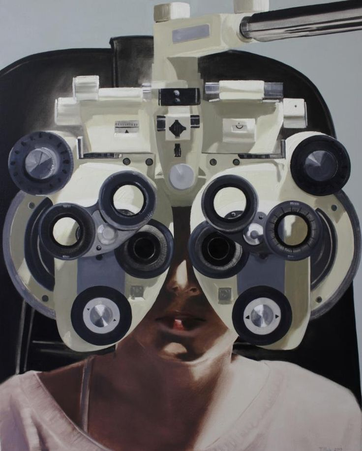 "Tanya Poole ""Focus Machine"" from The Becoming Girl series. 2013"