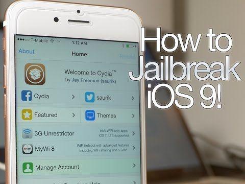 Como hacer Jailbreak en iOS 9.0.2