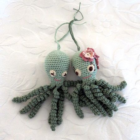 Crochet Octupus for premature babies