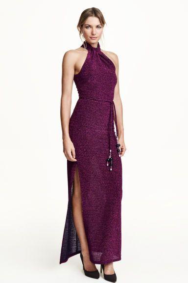 Rochie lungă strălucitoare | H&M