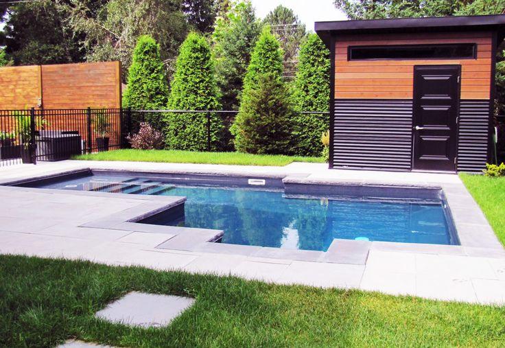 petite piscine creus e projet r alis par val morin signature piscine creusee pool summer. Black Bedroom Furniture Sets. Home Design Ideas