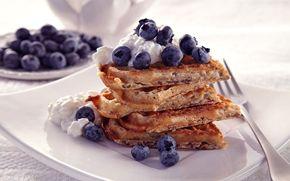Aamiaisvohvelit / Breakfast waffles
