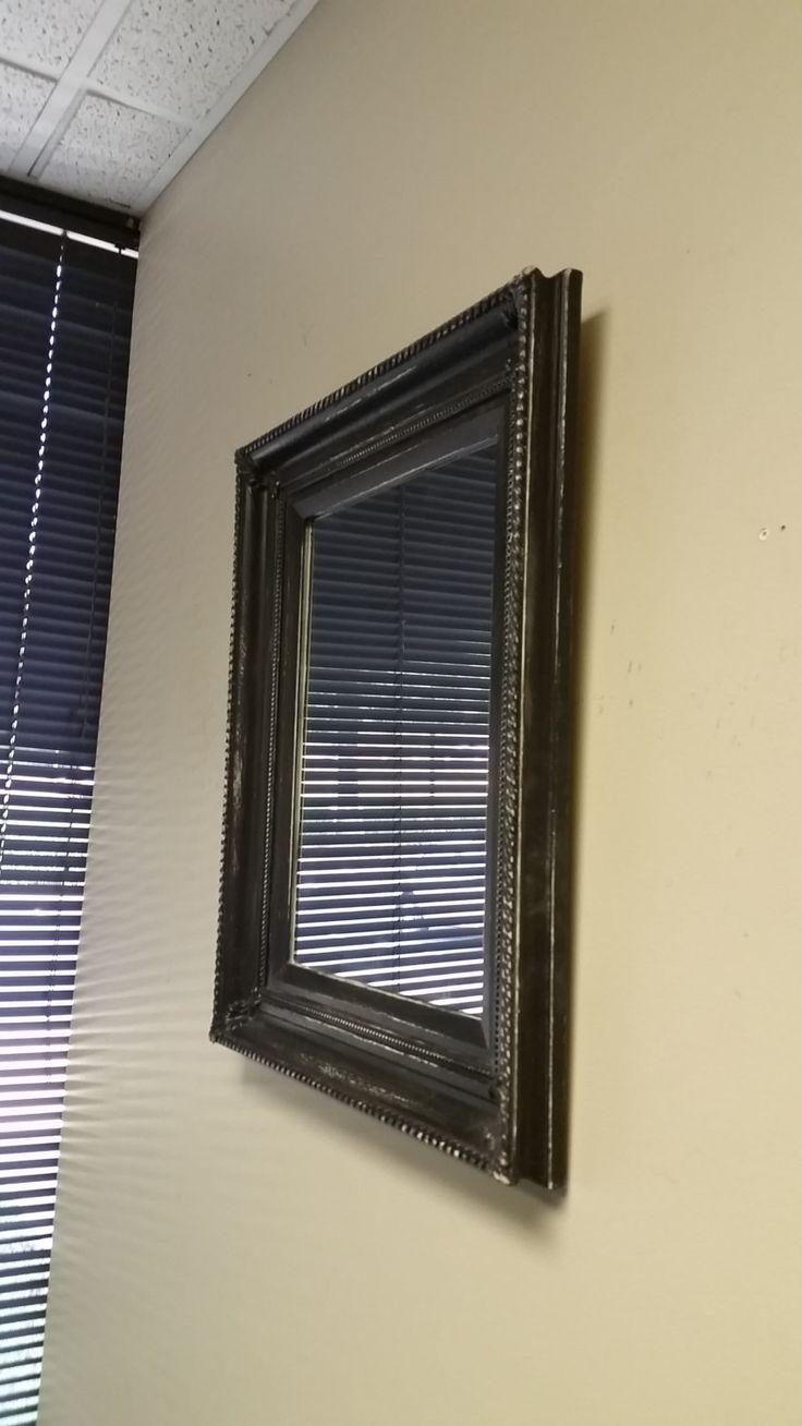 Black Rustic Mirror, Handmade Mirror, Bathroom Mirror, Vanity Mirror, Distressed Large Mirror, Black Mirror, Handmade Mirror by TheDecorativeCompany on Etsy