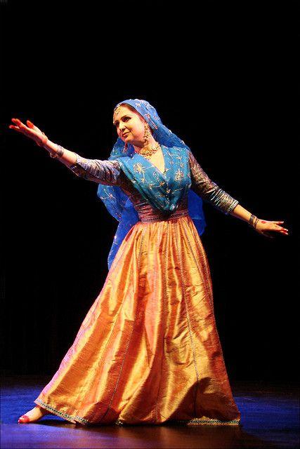 kathak dance! beautiful performance wear.