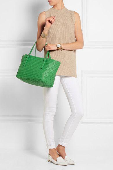 Bottega Veneta | Shopper small intrecciato leather tote | NET-A-PORTER.COM