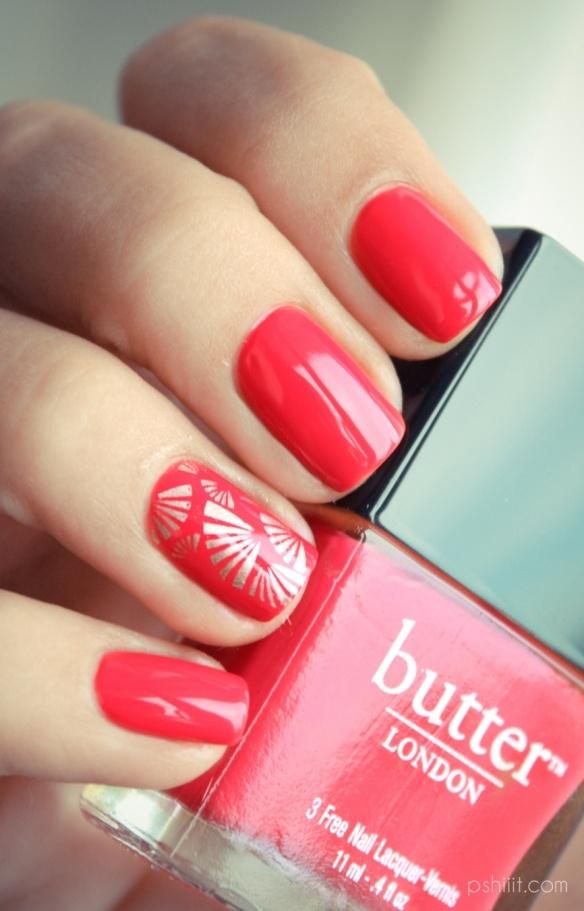 Butter London Macbeth: Colors Combos, Nails Art, Accent Nails, Nailart, Butter London, Nailpolish, Beautiful, Nails Polish, London Macbeth