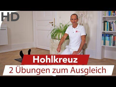 Hohlkreuz (Hyperlordose) - 2 Übungen zum Ausgleich bei einem Hohlkreuz LNB Schmerztherapie