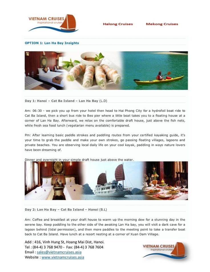 halong-phoenix-cruise-02days by Vietnam Cruises via Slideshare