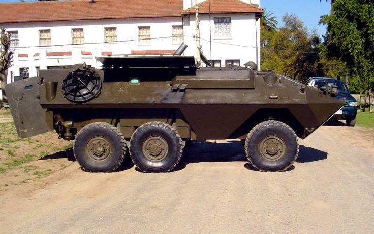 vehiculos blindados chilenos MOGAR PORTAMOTERO DE 120 MM