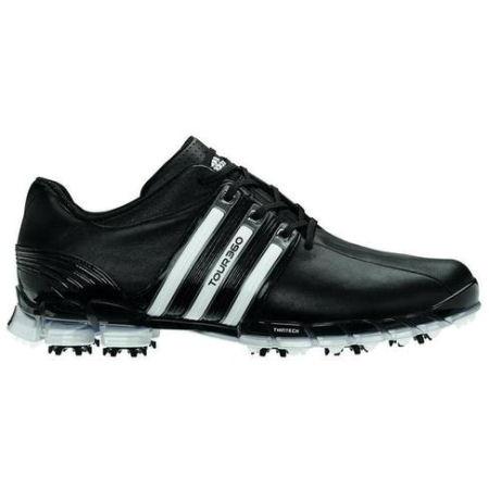 Adidas Tour 360 ATV Golf Shoes - 672570 Black/Black/White