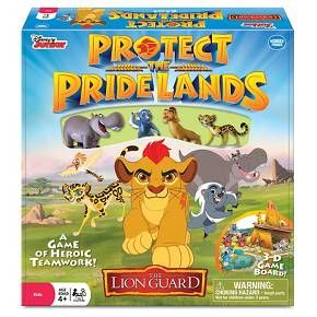 Disney The Lion Guard Protect Pride Lands Game Encourages Cooperation And Teamwork Promotes Communication Problem Solving Light Strategy