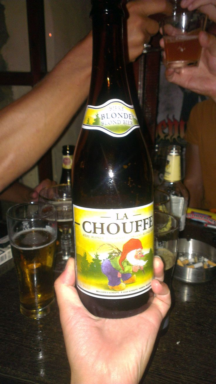 La Chouffe - Good balance beer! Smooth, citrus and freshness!  #Belgium #LaChouffe #craftbeer