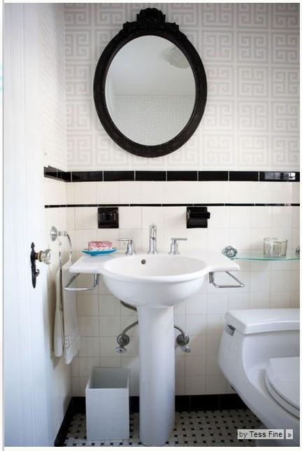 55 best images about updated vintage bathrooms on pinterest vintage bathroom sinks - Jonathan adler sink ...